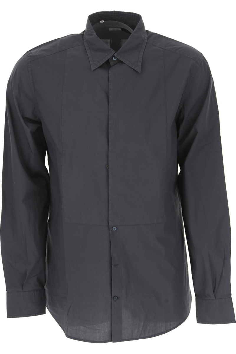 Dolce & Gabbana Shirt for Men in Outlet Anthracite USA - GOOFASH