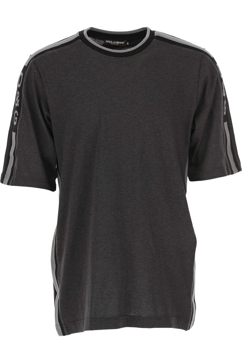 Dolce & Gabbana T-Shirt for Men On Sale in Outlet Grey SE - GOOFASH