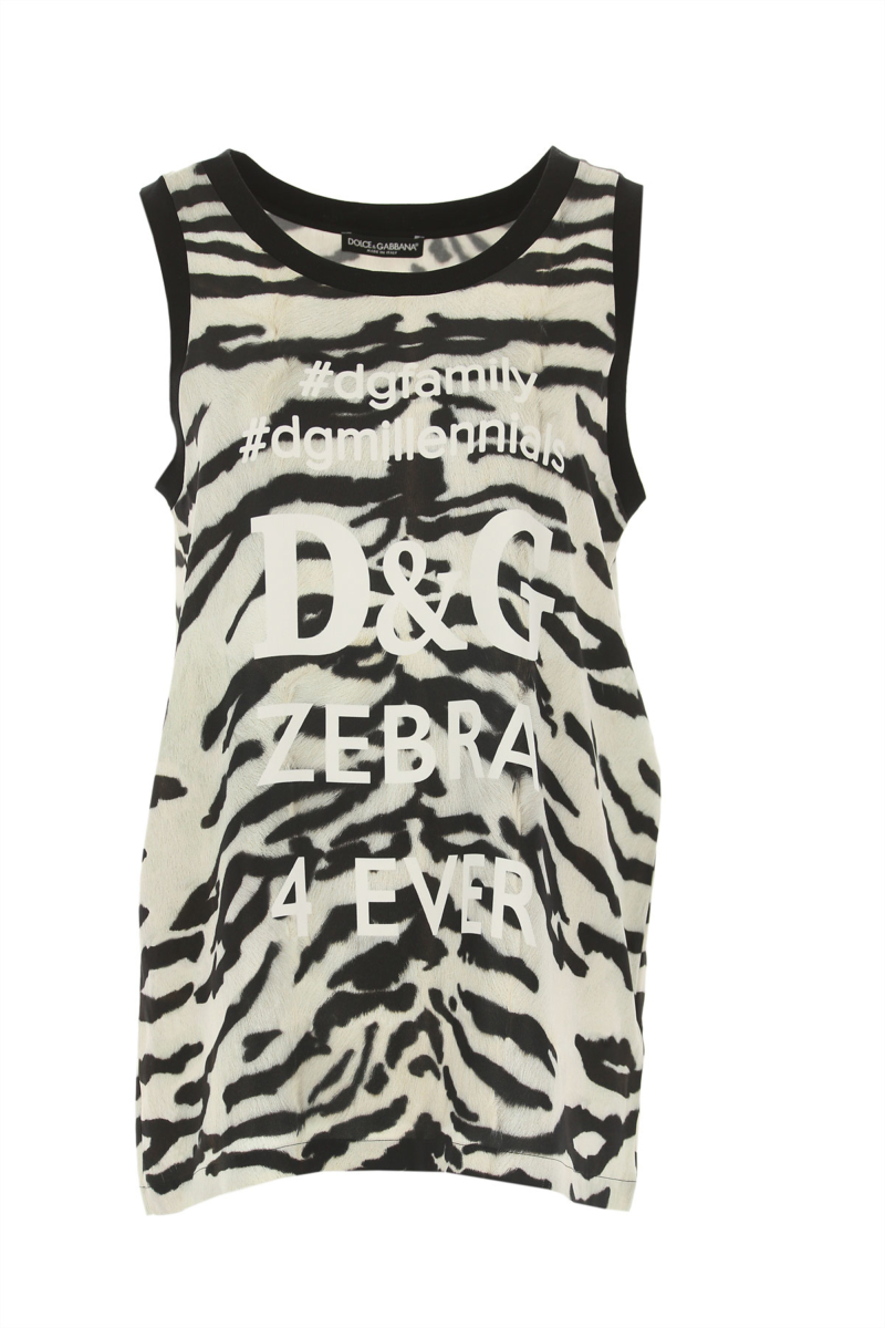 Dolce & Gabbana Top for Women On Sale in Outlet Black SE - GOOFASH
