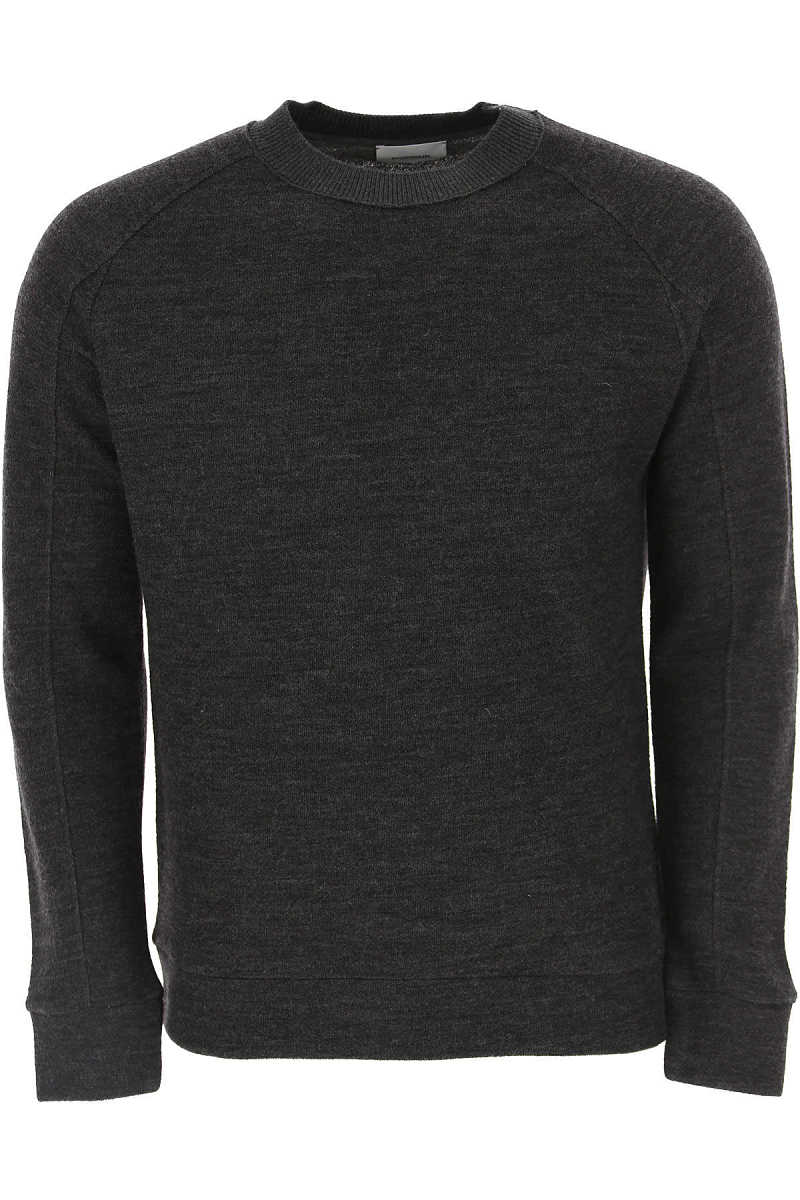 Dondup Sweater for Men Jumper Anthracite USA - GOOFASH
