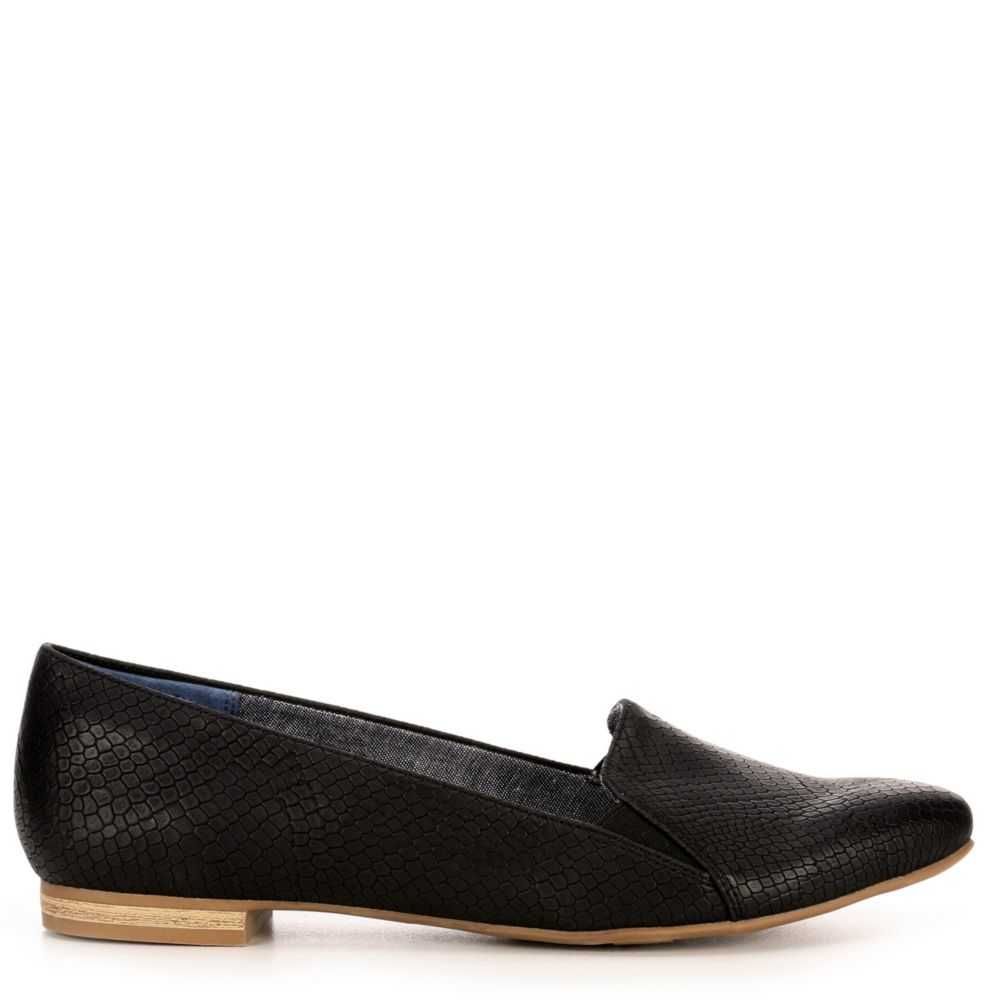 Dr. Scholl's Womens Anyways Flats Shoes Black USA - GOOFASH - Womens FLAT SHOES