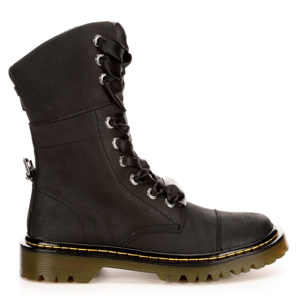Dr.martens Womens Yuba Black USA - GOOFASH -