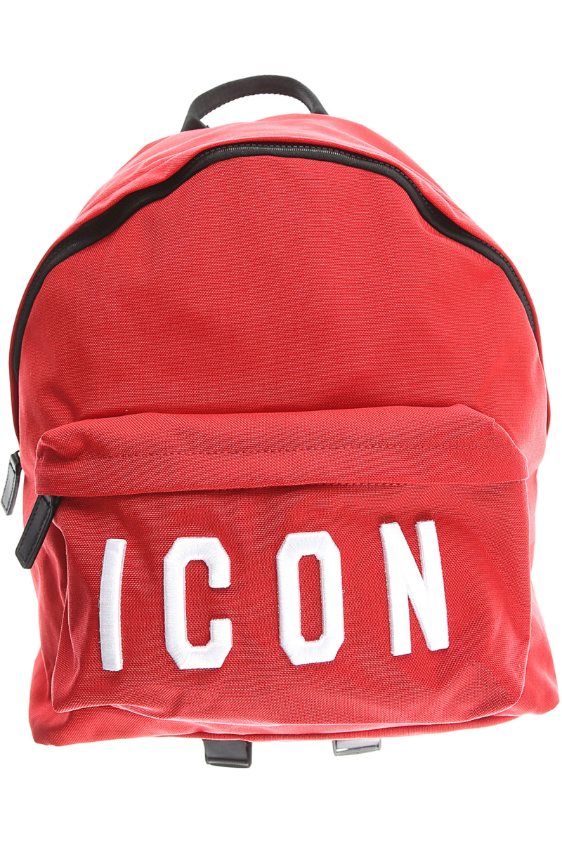 Dsquared2 Backpack for Men Red USA - GOOFASH