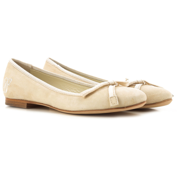 Dsquared2 Ballet Flats Ballerina Shoes for Women On Sale in Outlet Natural SE - GOOFASH