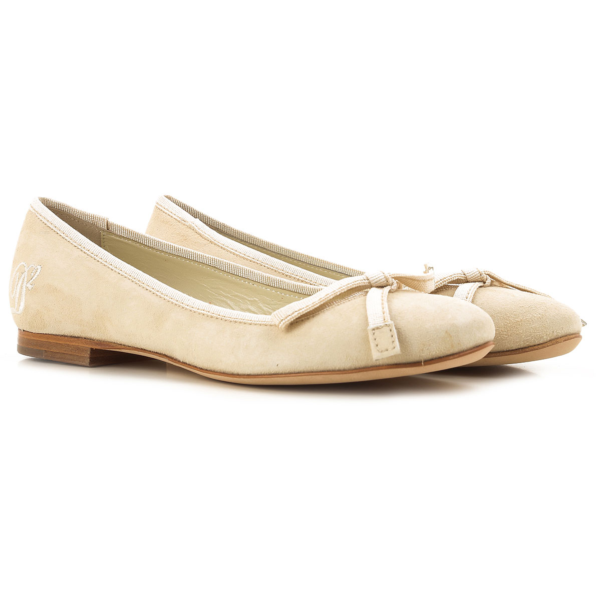 Dsquared2 Ballet Flats Ballerina Shoes for Women in Outlet Natural USA - GOOFASH