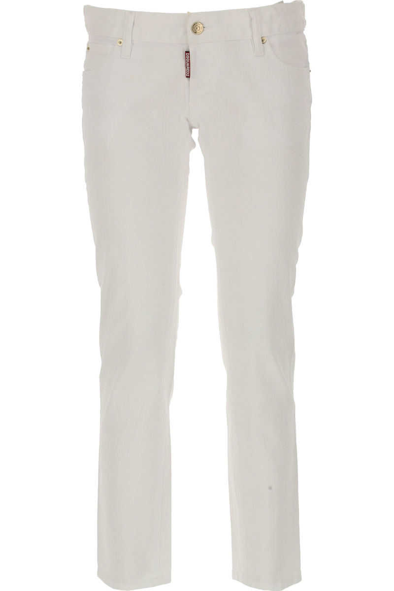 Dsquared2 Jeans On Sale in Outlet White SE - GOOFASH
