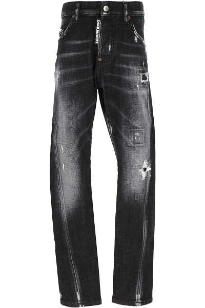 Dsquared2 Kids Jeans for Boys Denim Grey USA - GOOFASH