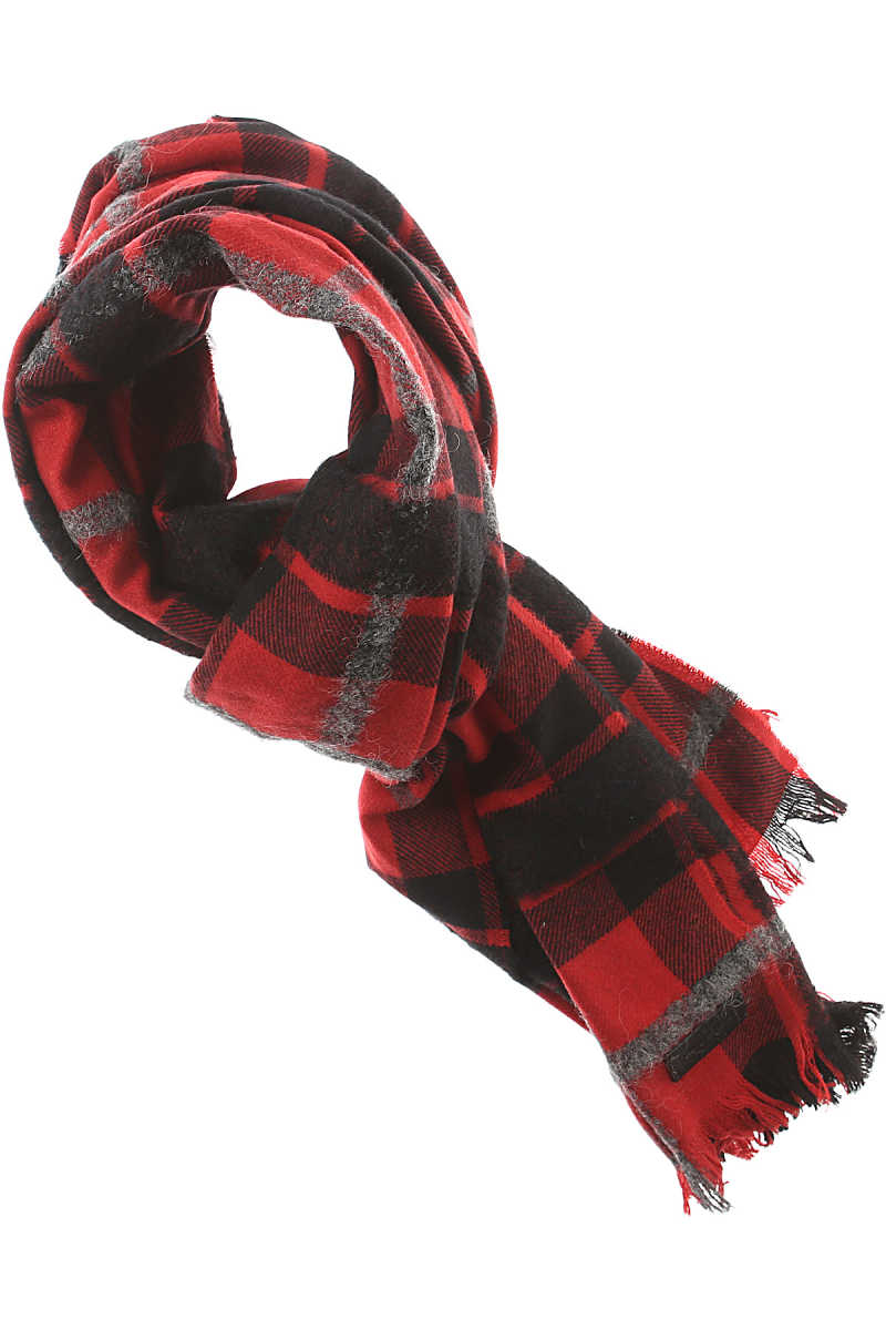 Dsquared2 Scarf for Men in Outlet Red USA - GOOFASH