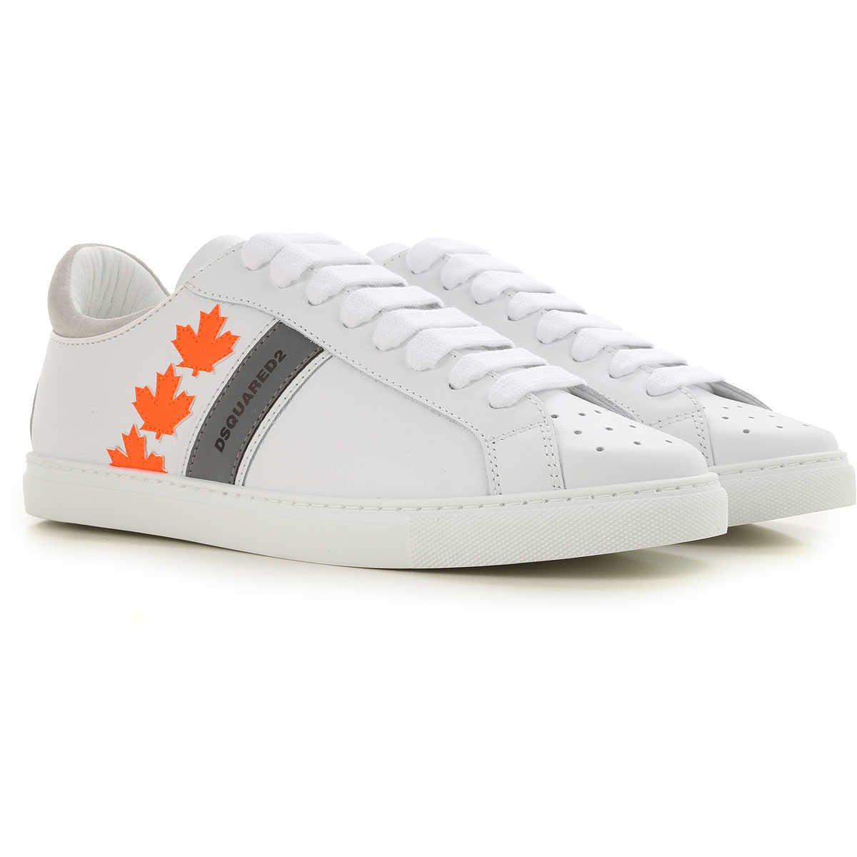 Dsquared2 Sneakers for Men On Sale White SE - GOOFASH