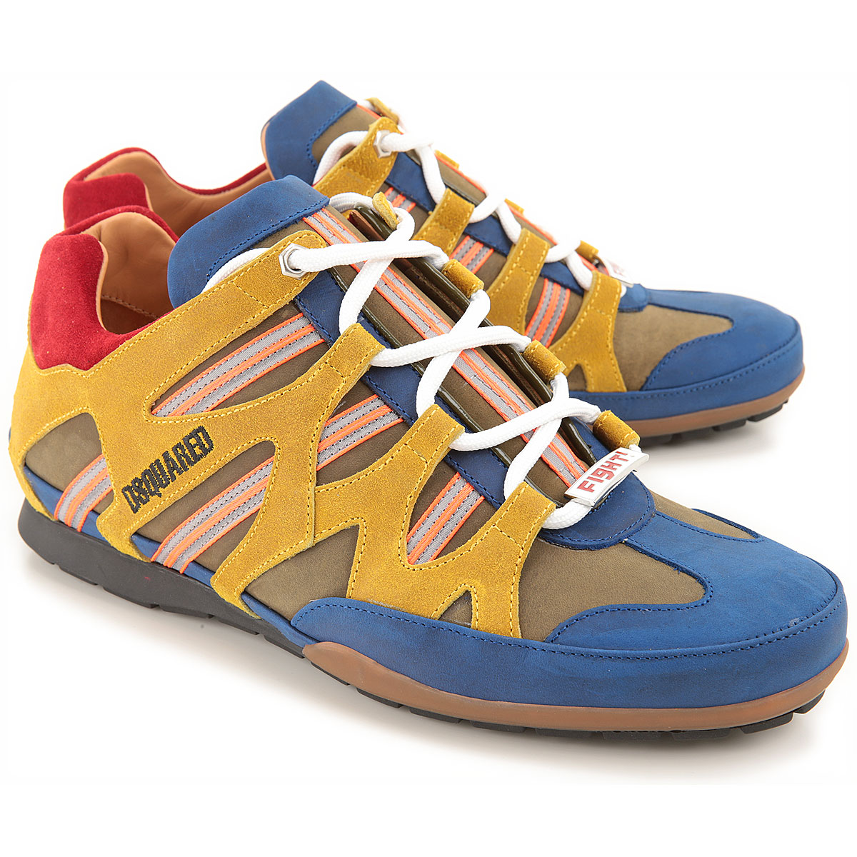 Dsquared2 Sneakers for Men in Outlet Mustard USA - GOOFASH