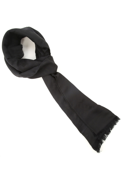 Elisabetta Franchi Scarf for Women Black SE - GOOFASH