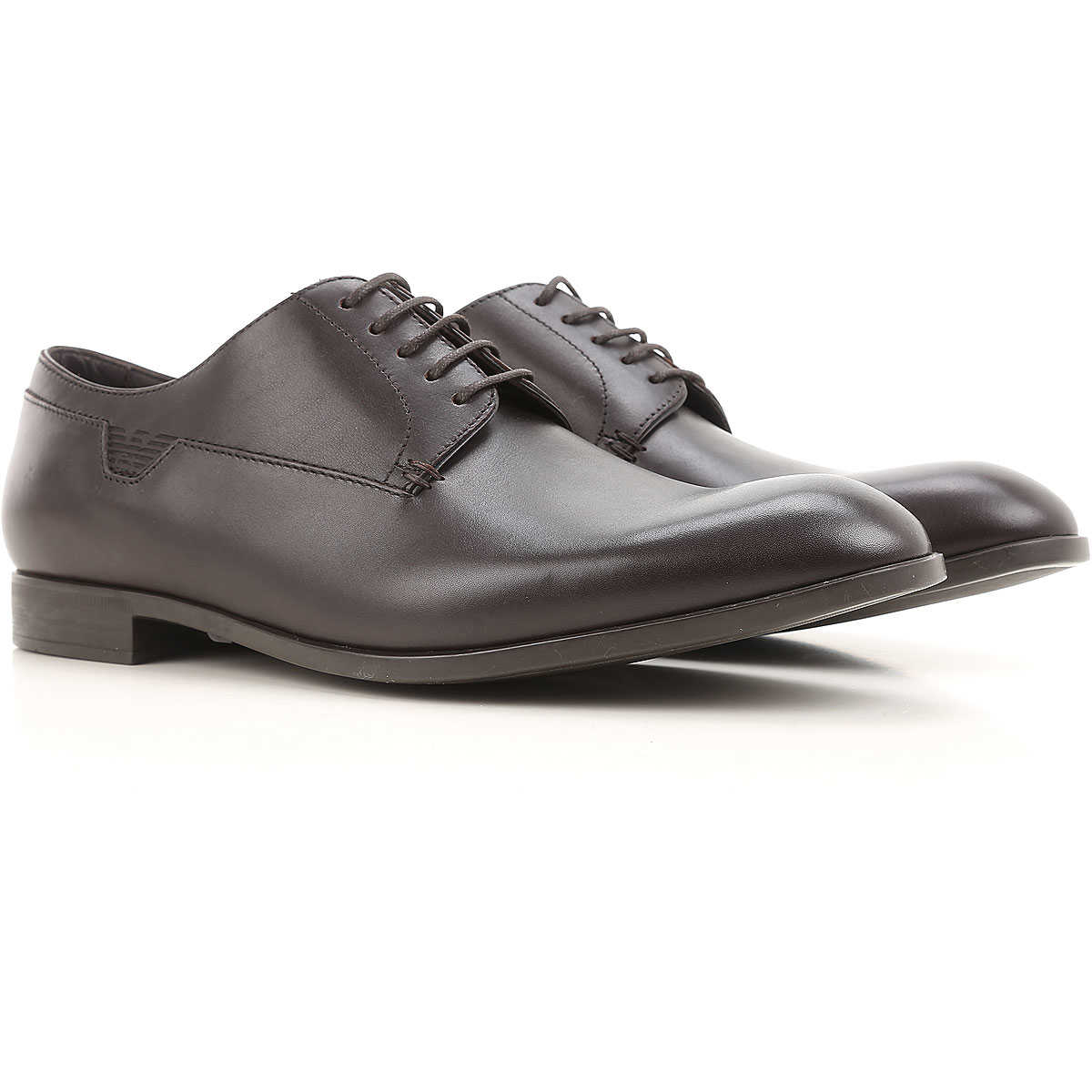 Emporio Armani Lace Up Shoes for Men Oxfords Derbies and Brogues On Sale SE - GOOFASH