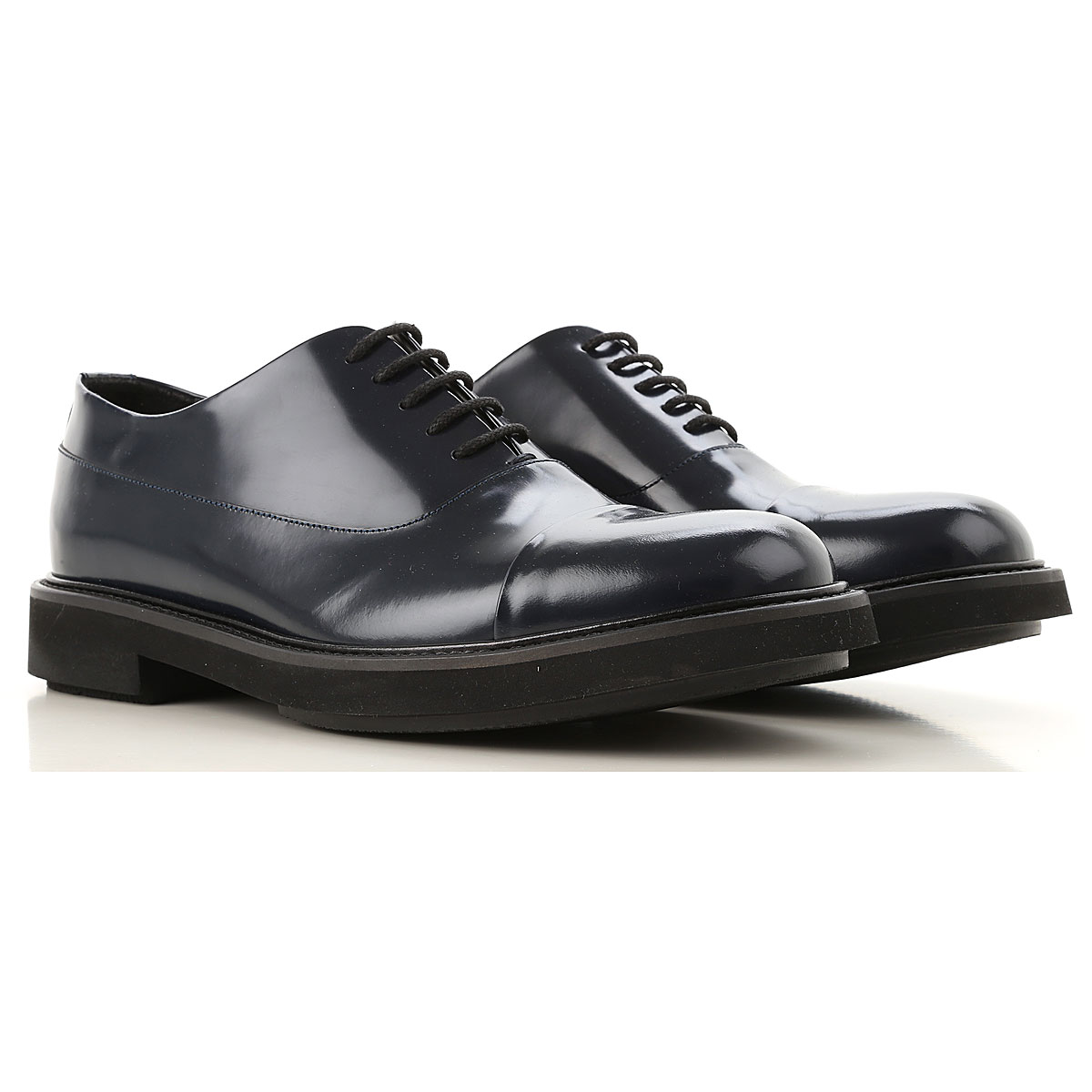 Emporio Armani Lace Up Shoes for Men Oxfords Derbies and Brogues On Sale USA - GOOFASH
