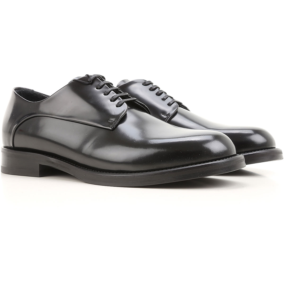 Emporio Armani Lace Up Shoes for Men Oxfords Derbies and Brogues On Sale in Outlet SE - GOOFASH