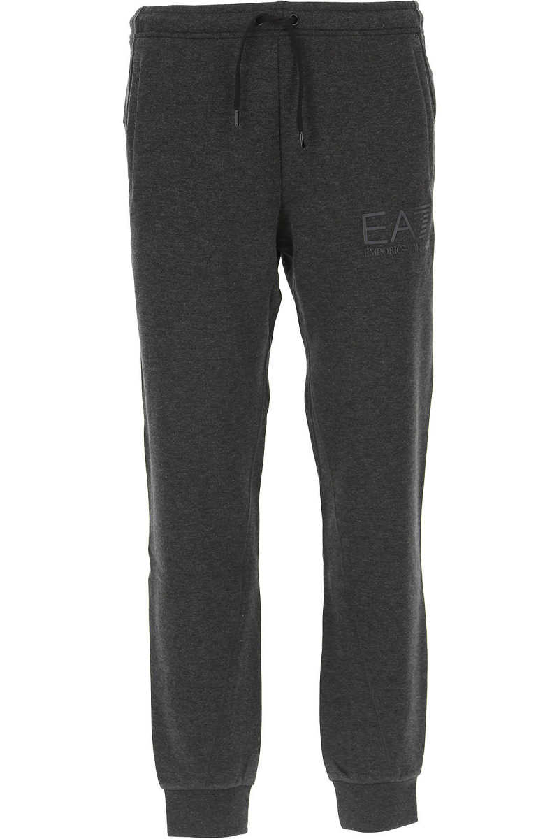 Emporio Armani Men's Sportswear for Gym Workouts and Running in Outlet Grey USA - GOOFASH