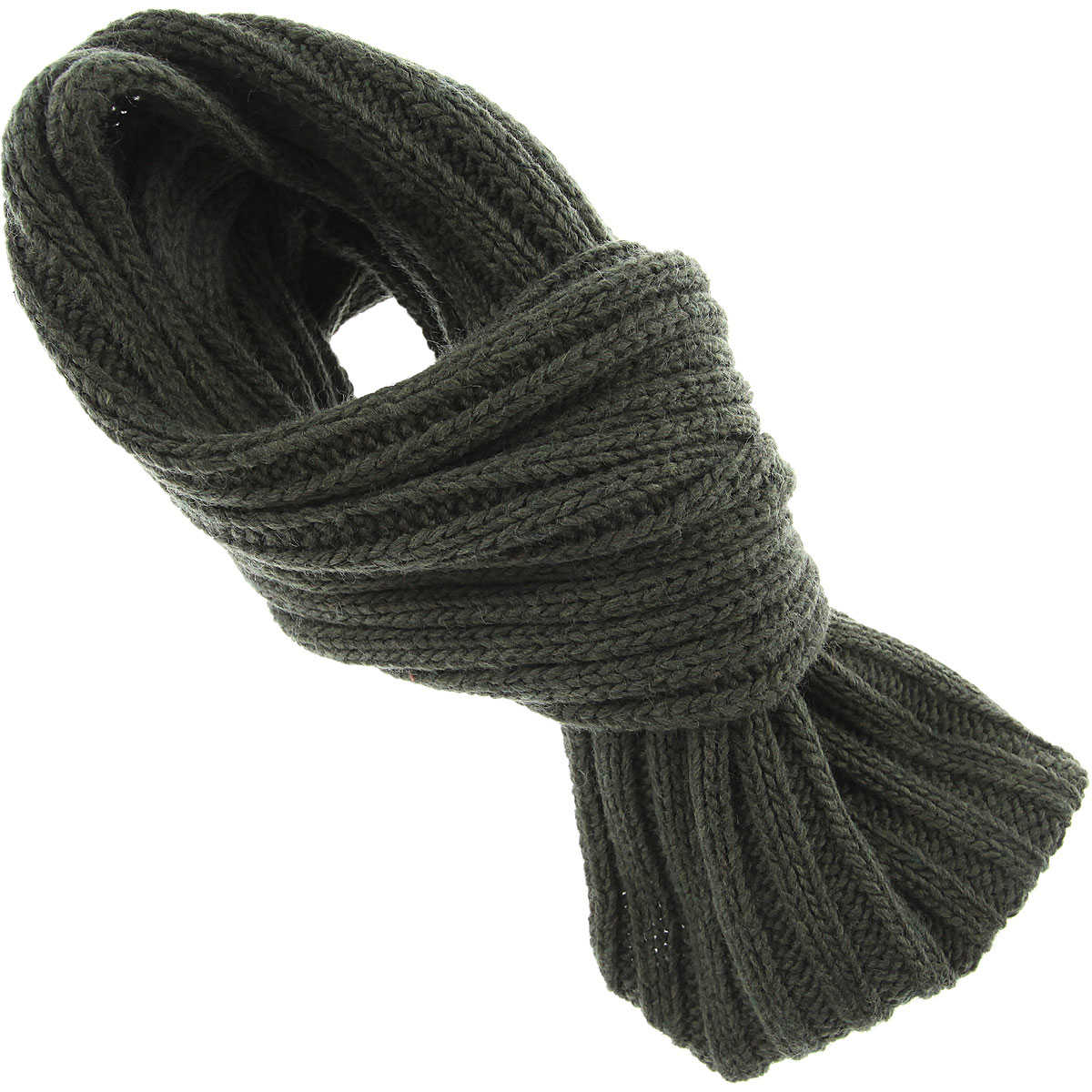 Emporio Armani Scarf for Men On Sale in Outlet Forest Green SE - GOOFASH