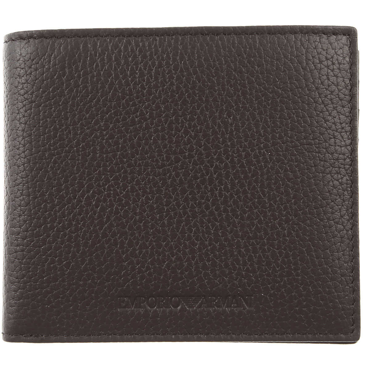 Emporio Armani Wallet for Men Black SE - GOOFASH