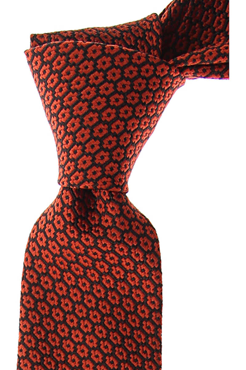 Ermenegildo Zegna Ties On Sale Orange SE - GOOFASH
