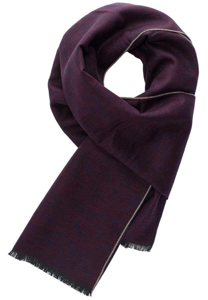 Eterna Scarf Bordeaux/Navy  Uni UK - GOOFASH