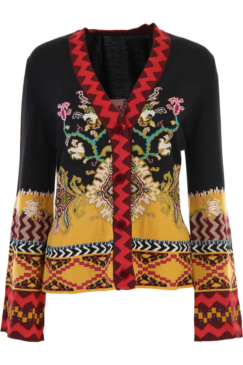 Etro Sweater for Women Jumper Multicolor USA - GOOFASH