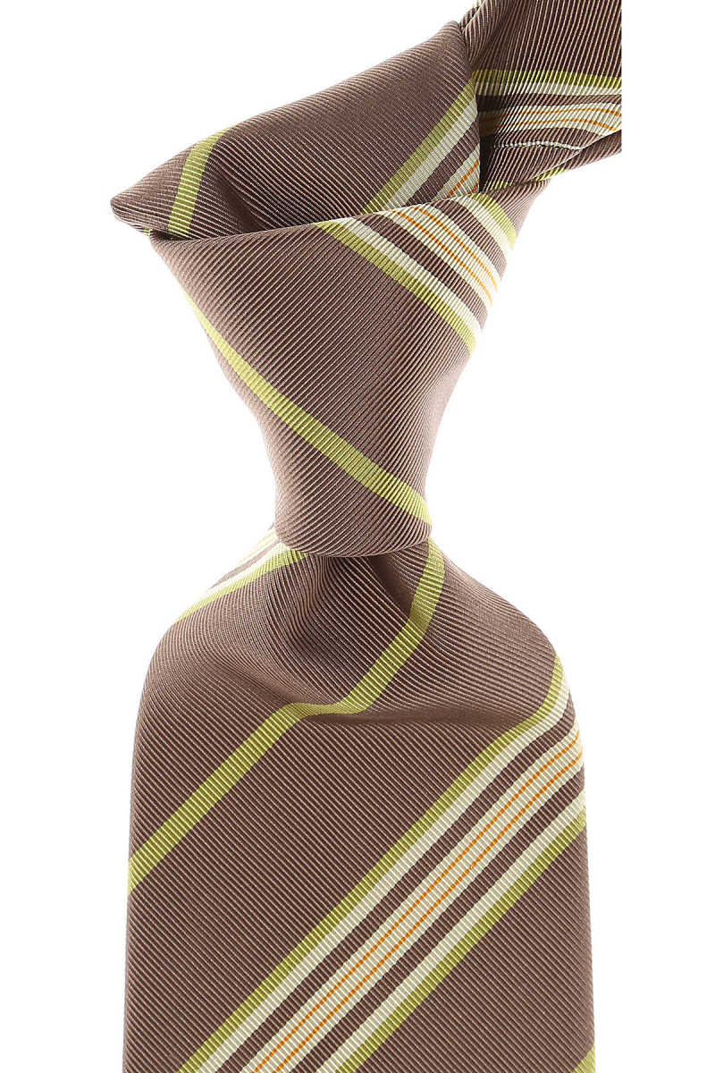 Etro Ties in Outlet Taupe USA - GOOFASH