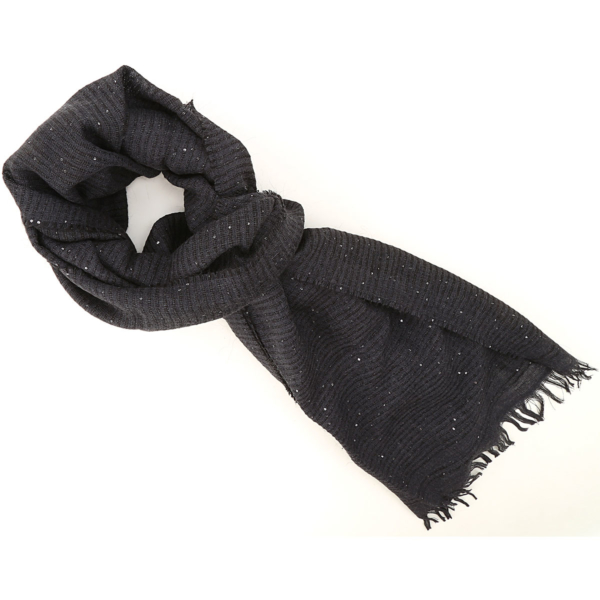 Fabiana Filippi Scarf for Women Dark Blu SE - GOOFASH