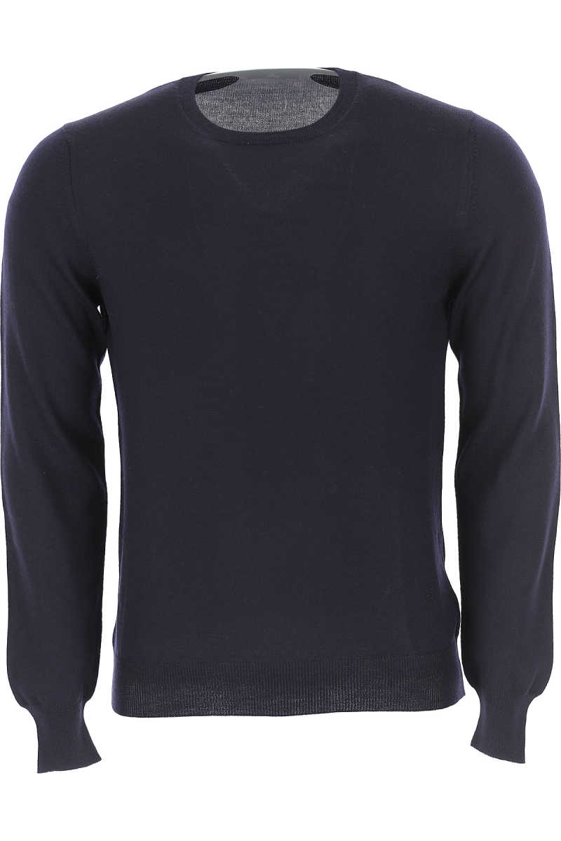 Fay Sweater for Men Jumper Blue Ink USA - GOOFASH