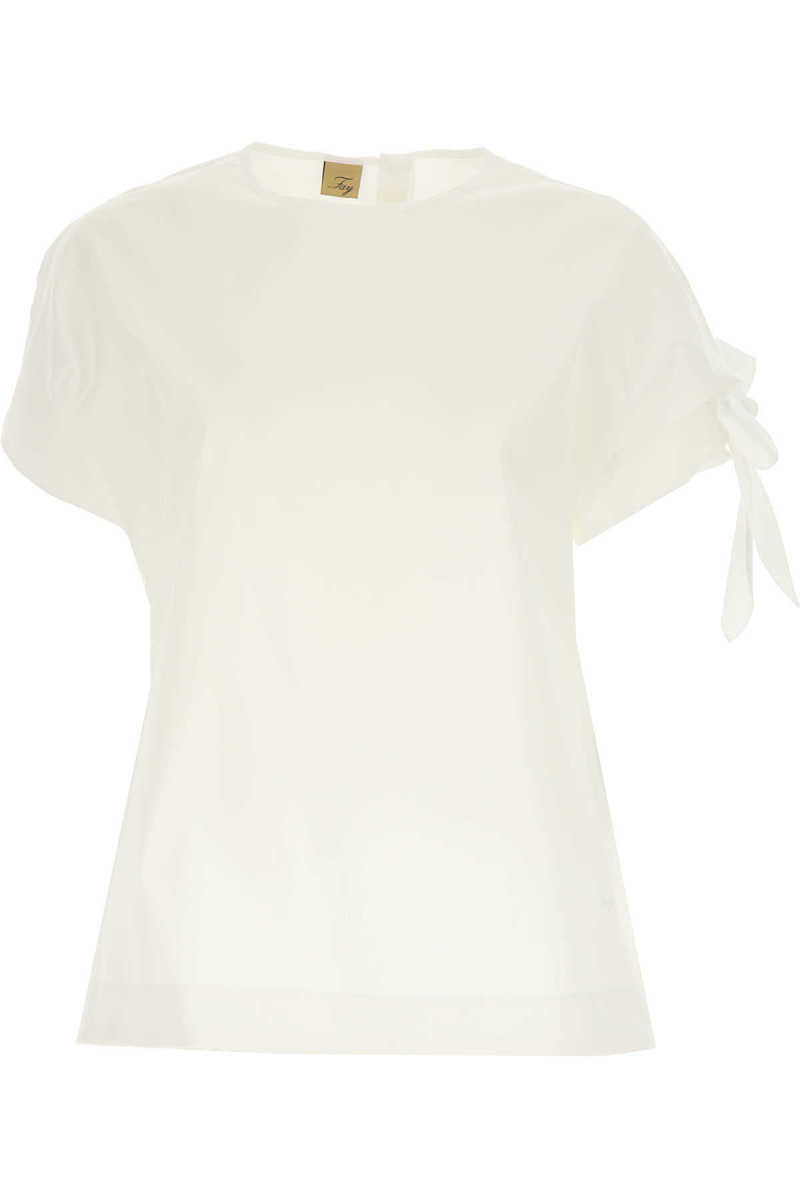 Fay Top for Women On Sale White SE - GOOFASH