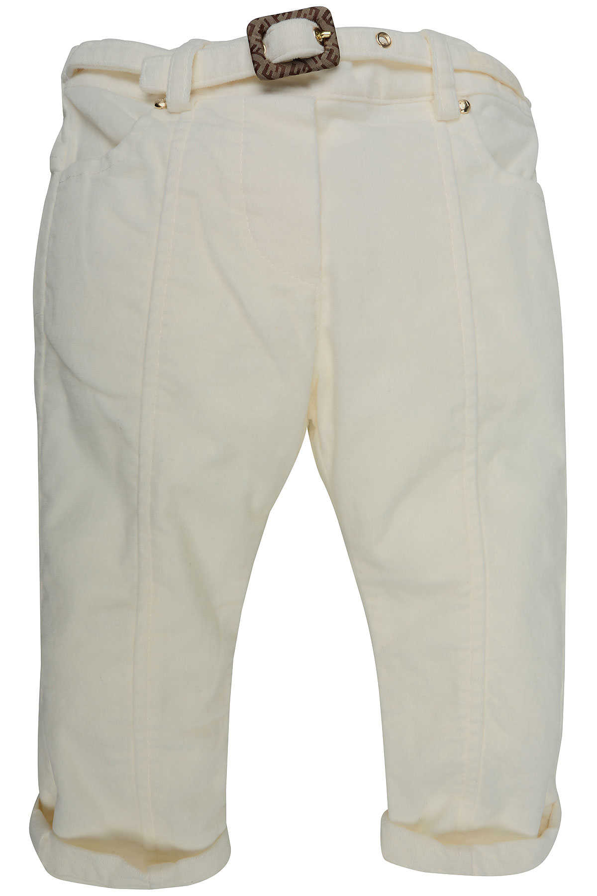 Fendi Baby Pants for Girls On Sale in Outlet White SE - GOOFASH