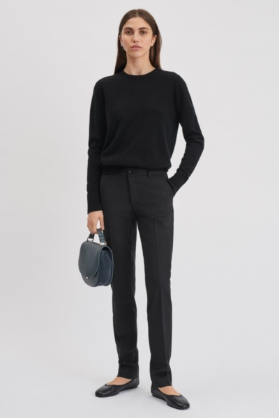 Filippa K Luisa Cool Wool Trouser Black UK - GOOFASH
