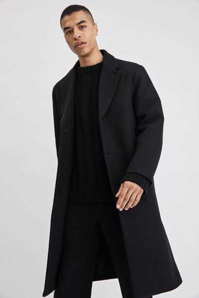Filippa K Lyon Wool Coat Black SE - GOOFASH