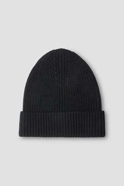 Filippa K Rib Hat Navy UK - GOOFASH
