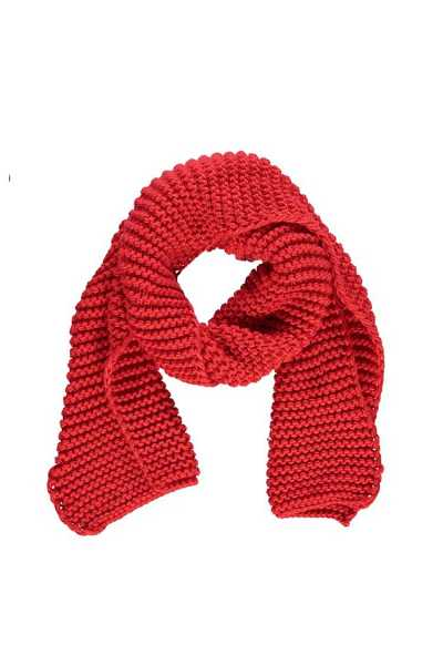 Forever21Long Knit Scarf - Red UK - GOOFASH