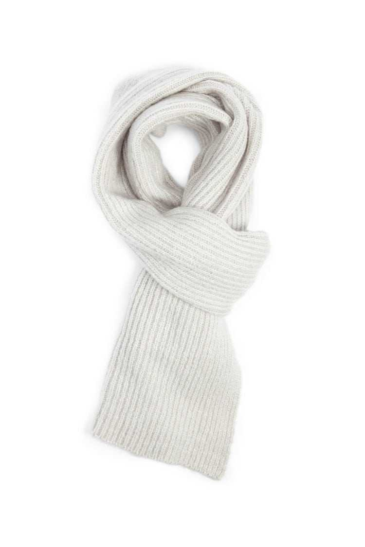 Forever21Ribbed Oblong Scarf - Grey UK - GOOFASH