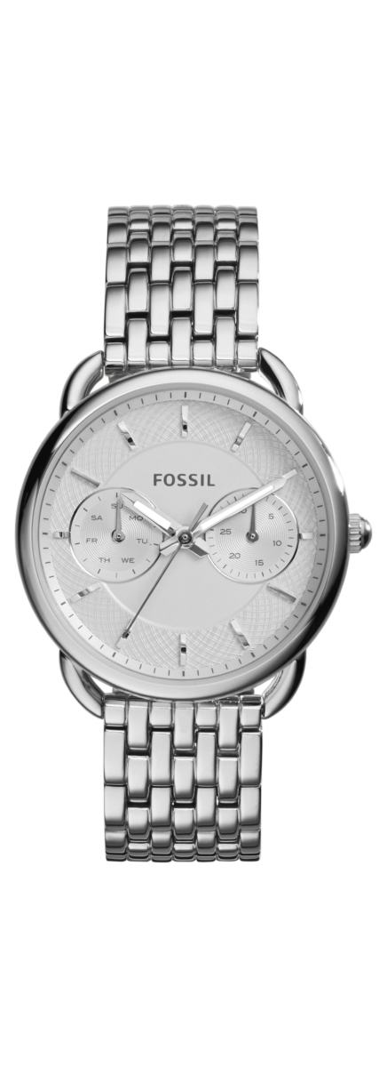 Fossil Tailor Watches Silver UK - GOOFASH