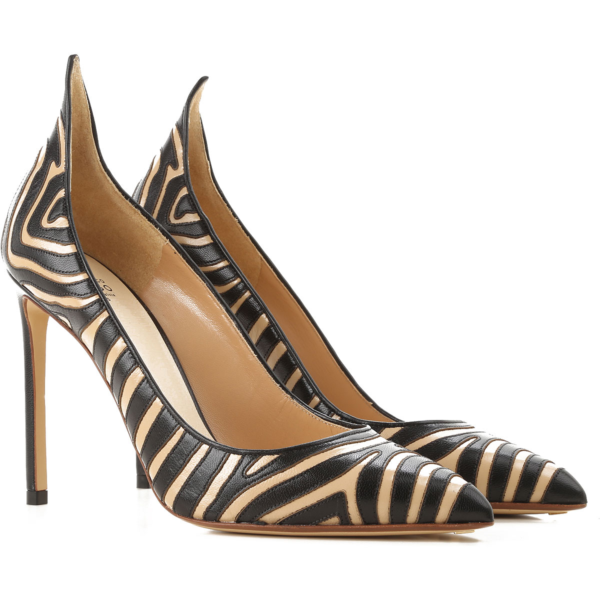 Francesco Russo Pumps & High Heels for Women in Outlet Sand USA - GOOFASH