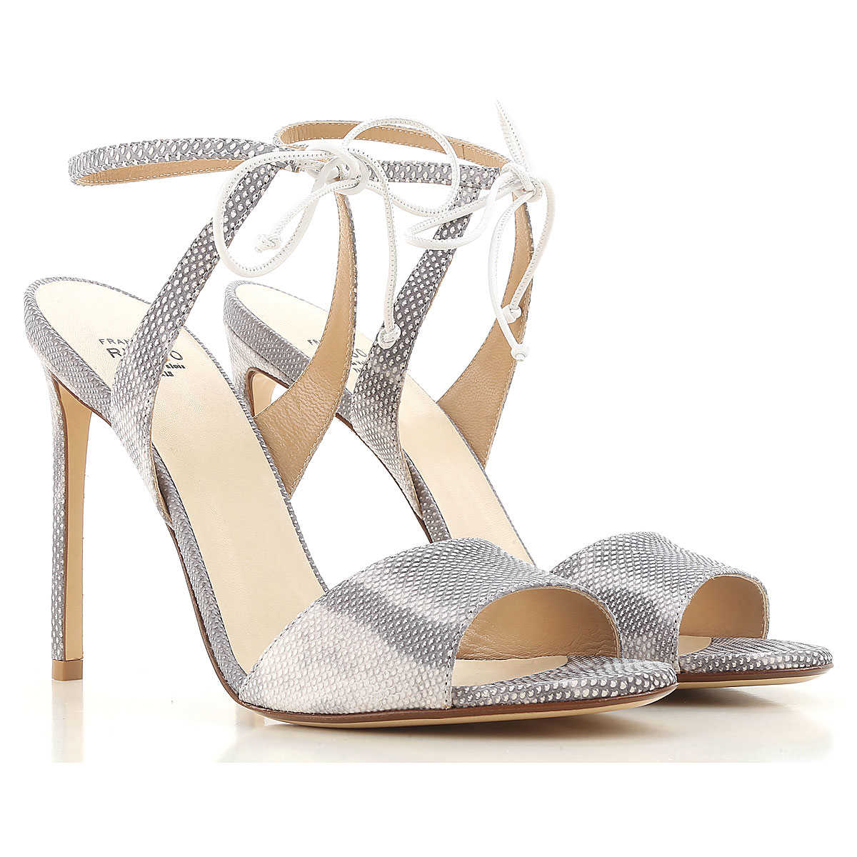 Francesco Russo Sandals for Women On Sale in Outlet White SE - GOOFASH