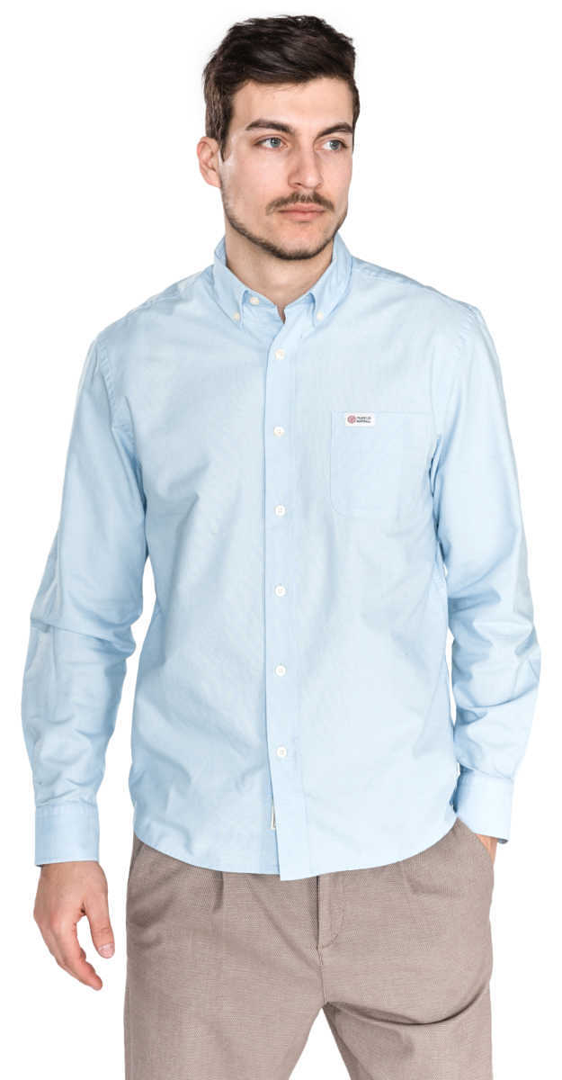 Franklin & Marshall Shirt Blue UK - GOOFASH