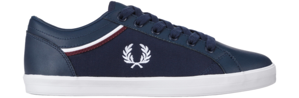 Fred Perry Baseline Sneakers Blue UK - GOOFASH