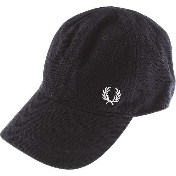 Fred Perry Hat for Women Navy Blue USA - GOOFASH