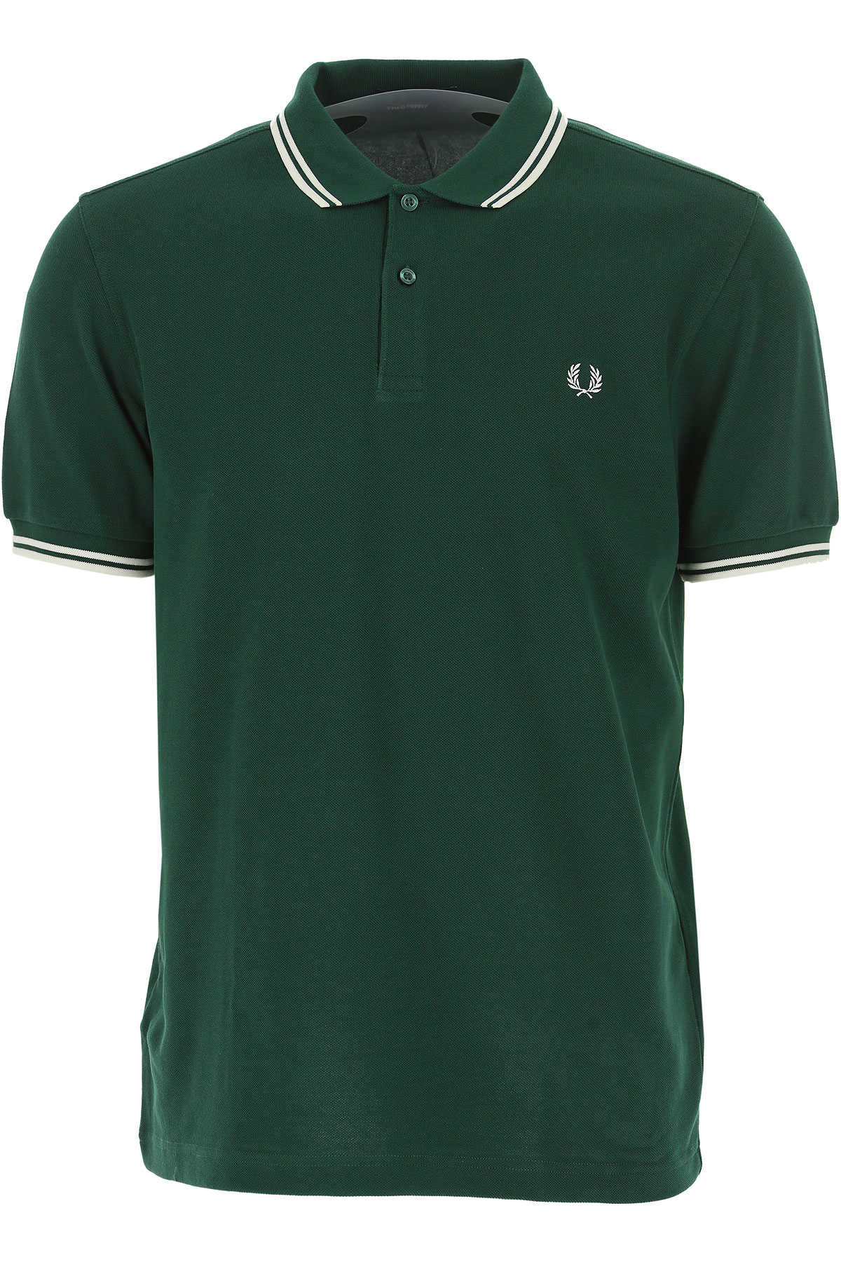 Fred Perry Polo Shirt for Men Dark Green USA - GOOFASH
