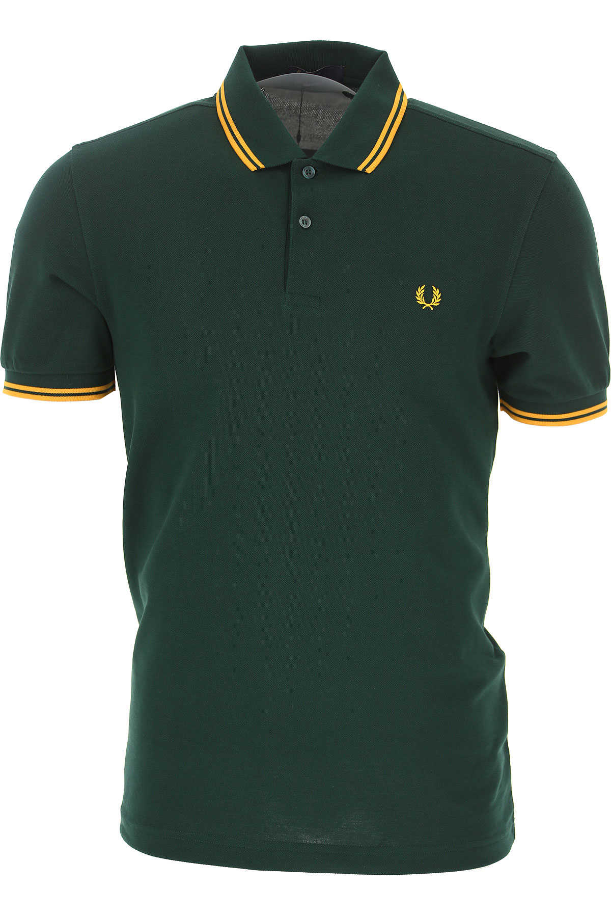 Fred Perry Polo Shirt for Men evergreen USA - GOOFASH