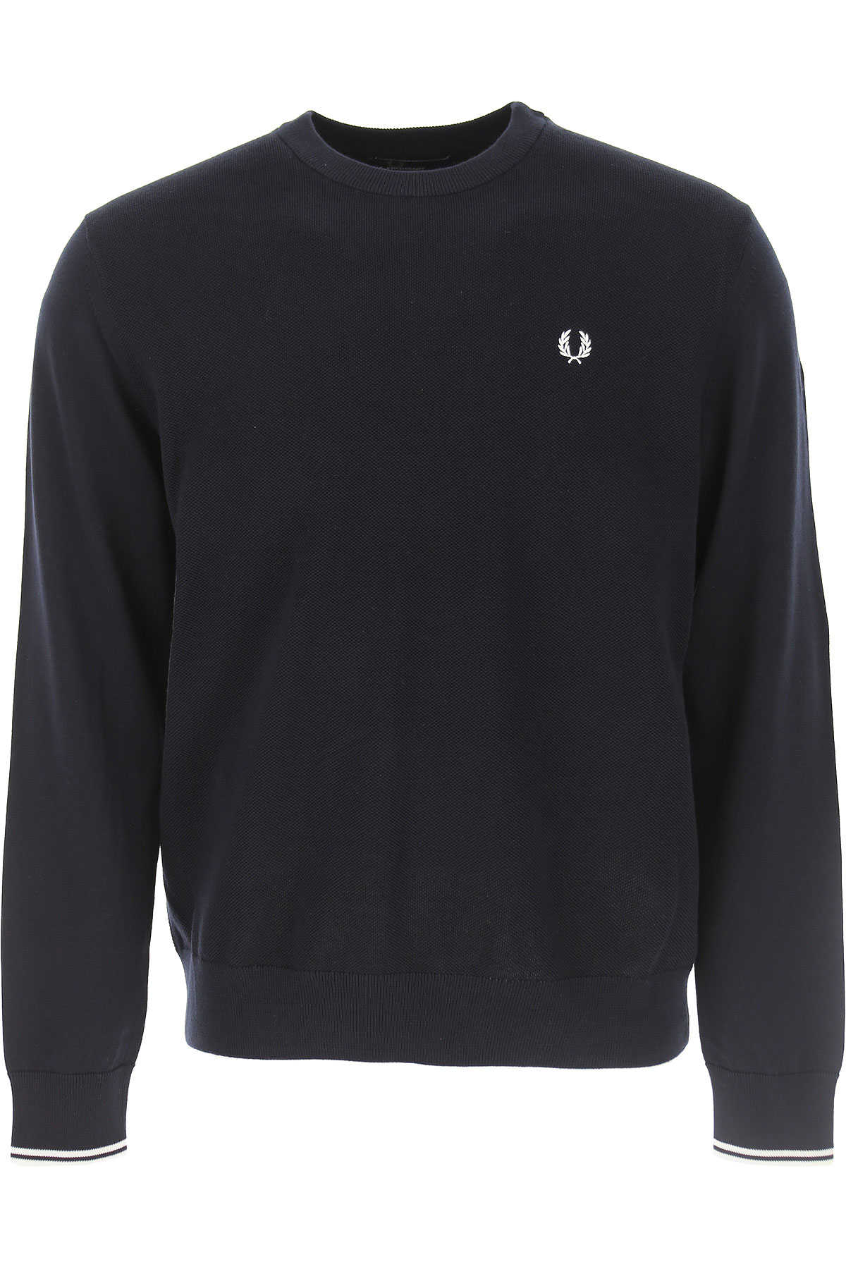 Fred Perry Sweater for Men Jumper Dark Blue Navy USA - GOOFASH