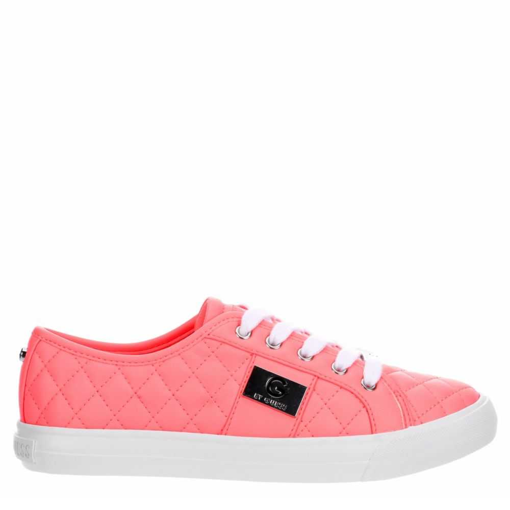 G By Guess Womens Backer Sneakers Pink USA - GOOFASH