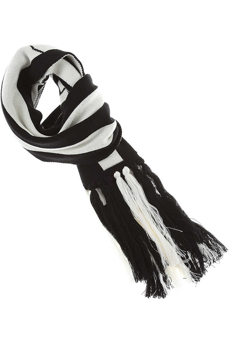 GCDS Scarf for Women On Sale Black SE - GOOFASH