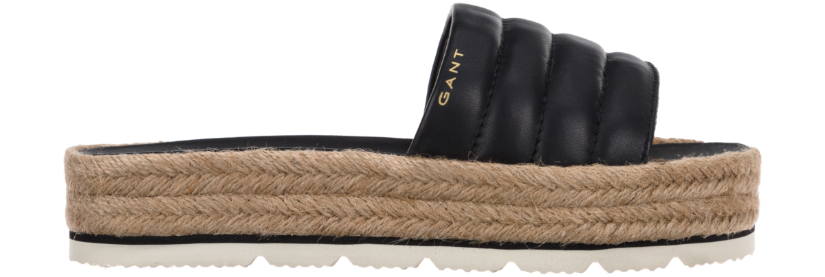 Gant Cape Coral Slippers Black UK - GOOFASH