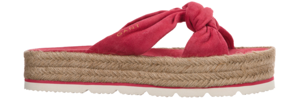 Gant Cape Coral Slippers Red Pink UK - GOOFASH