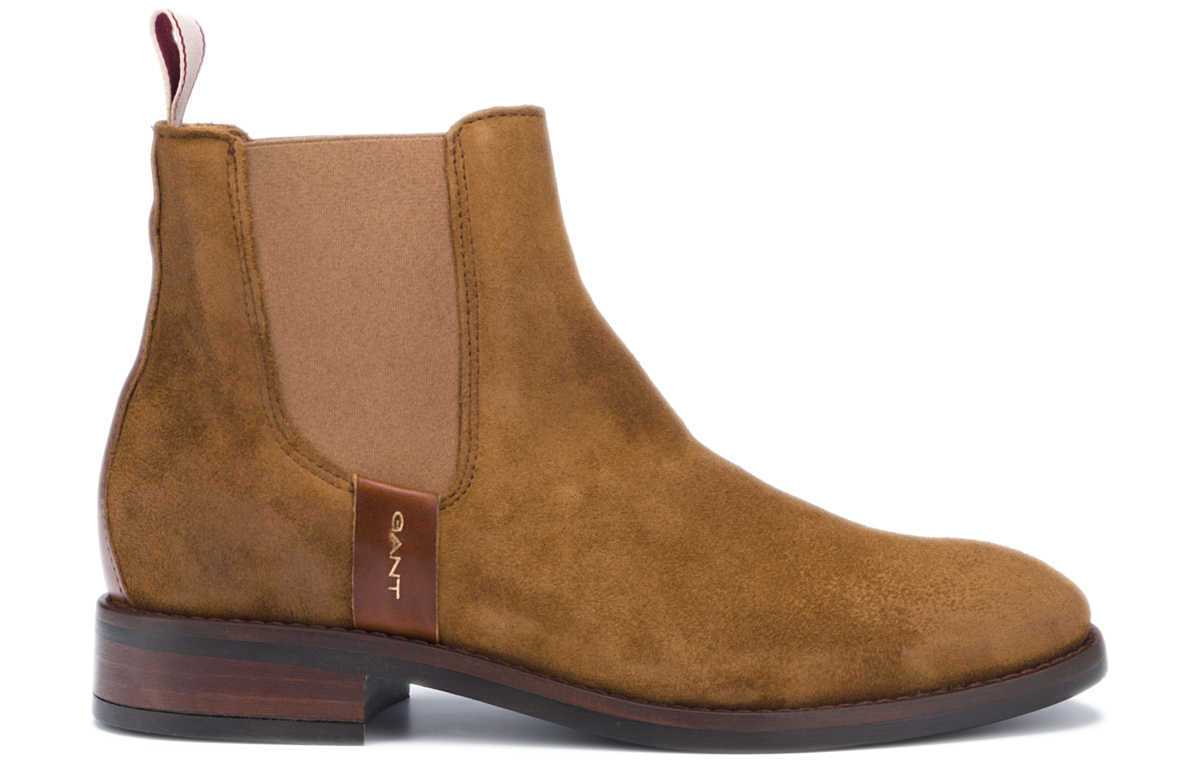 Gant Fay Ankle boots Brown UK - GOOFASH
