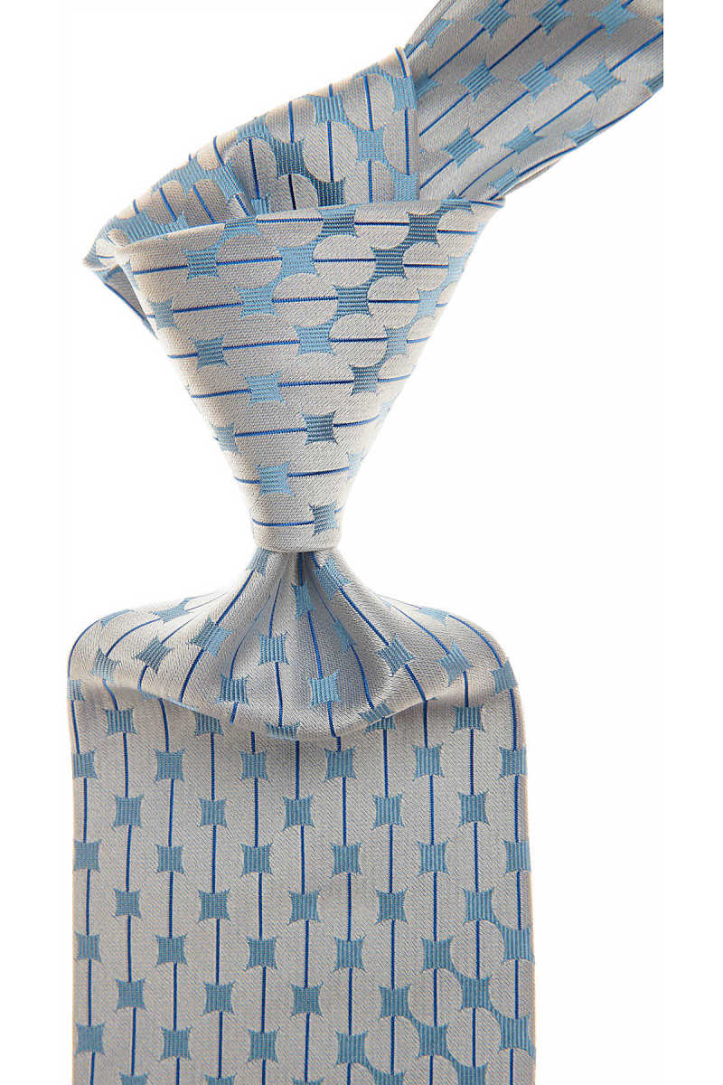 Gianni Versace Ties in Outlet Baby Blue USA - GOOFASH