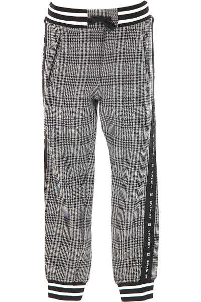 Givenchy Kids Pants for Girls Grey SE - GOOFASH
